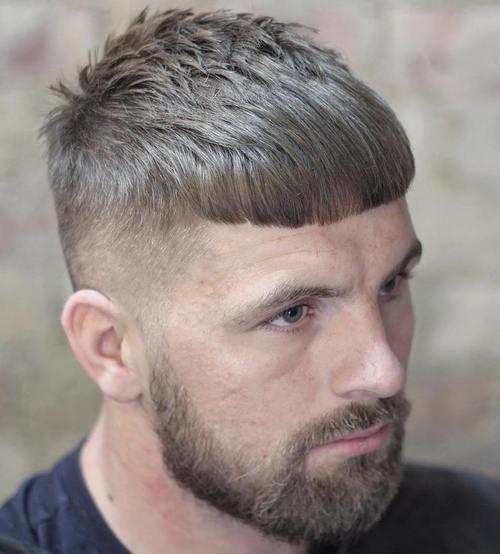 Caesar Haircut Ideas 20 Best Men S Styles For 2021