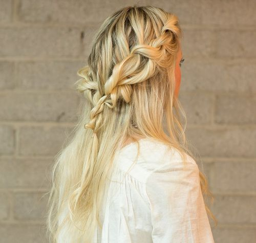 Hairstyles Half: 20 Trendy Half Braided Hairstyles