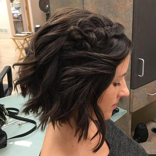 40 Gorgeous Braided Hairstyles For Short Hair Tutorials And Inspiration