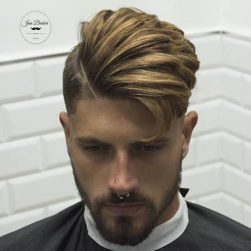 Hipster haircut for men