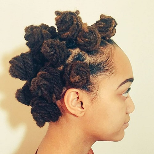 20 Fabulous Ways To Style Bantu Knots