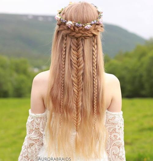 Boho Hairstyles: 20 Coolest Bohemian Hair Options