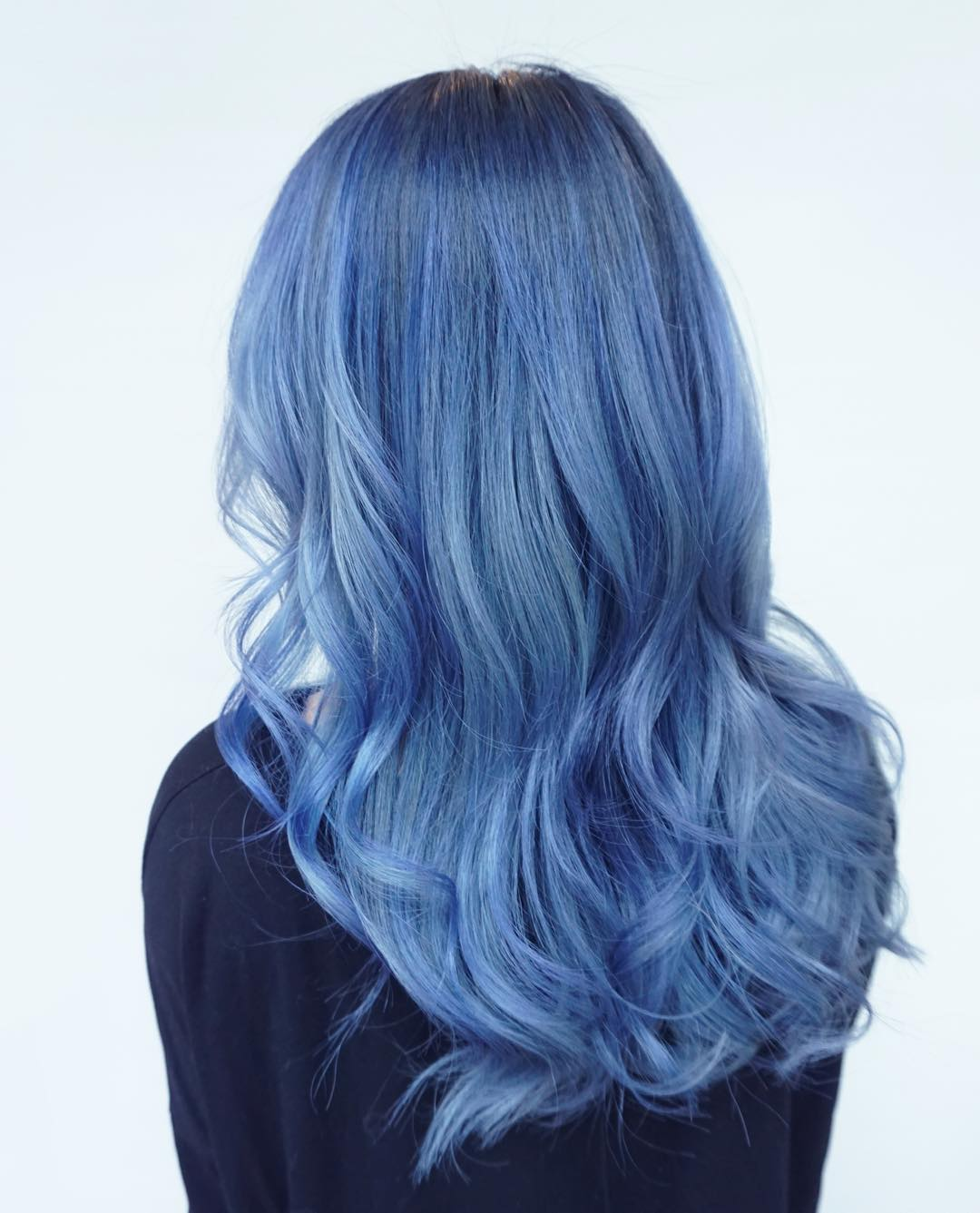 Black Hair With Electric Blue Highlights Hairs Picture Gallery