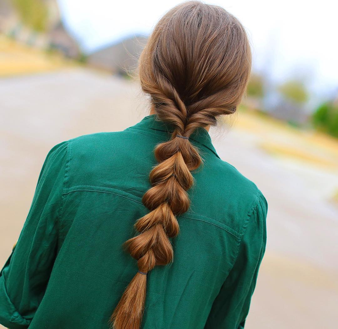 20 Ways To Pull Off A Pull Through Braid