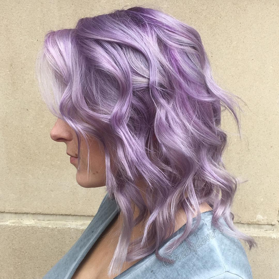 20 Swoon Worthy Lilac Hairstyles