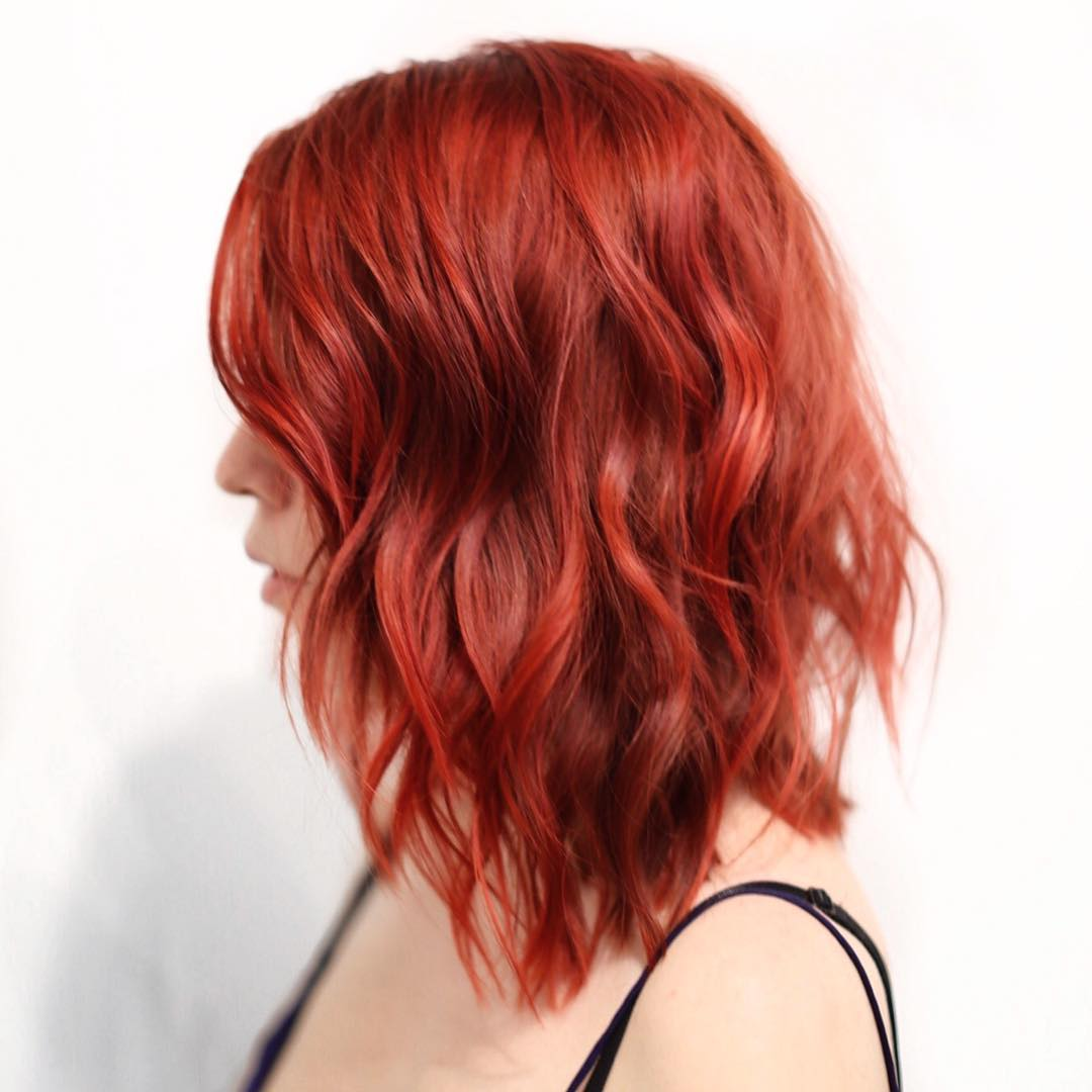 red hairstyles and haircuts ideas for 2018 — therighthairstyles