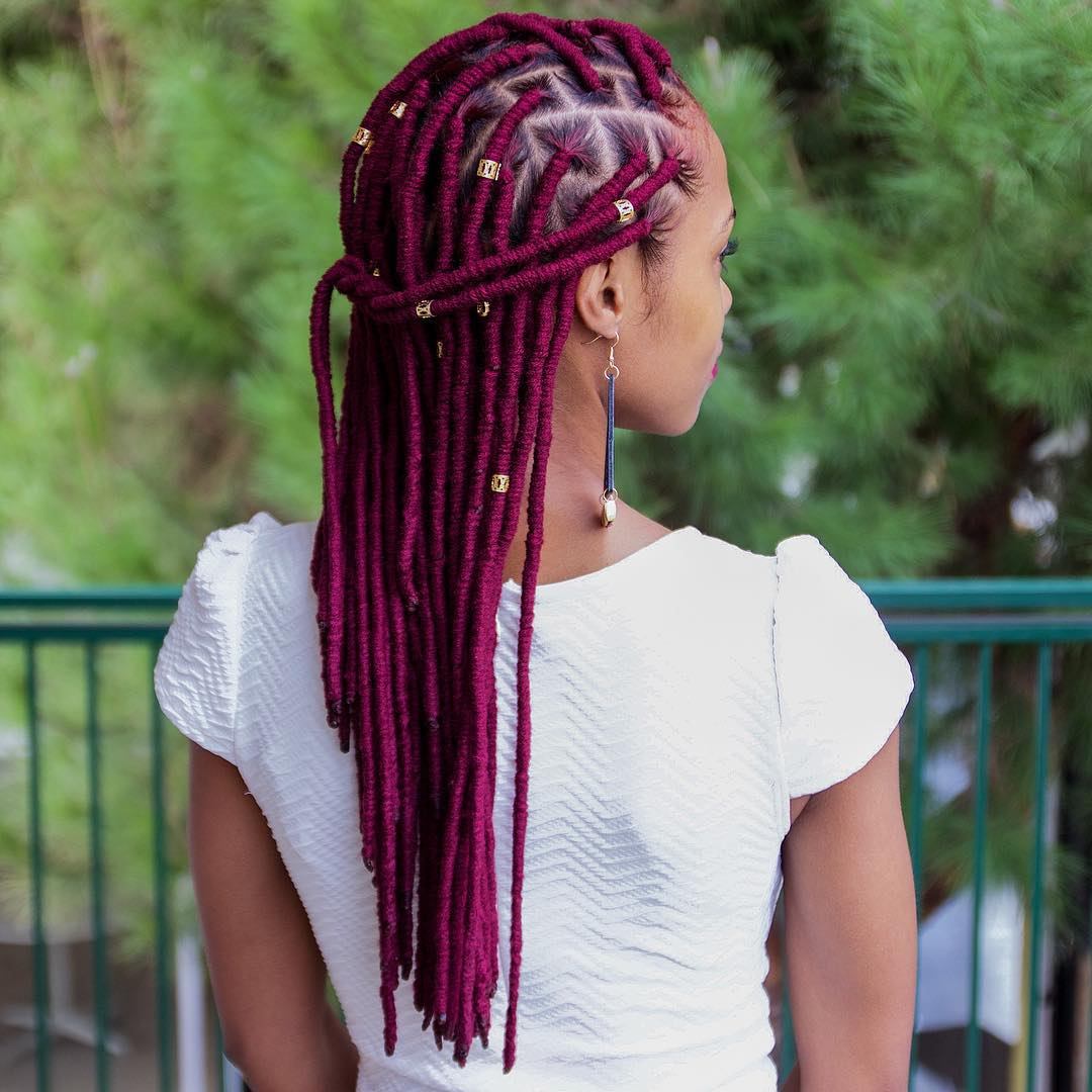40 Fabulous Funky Ways to Pull Off Faux Locs - Faux Locs Hairstyles