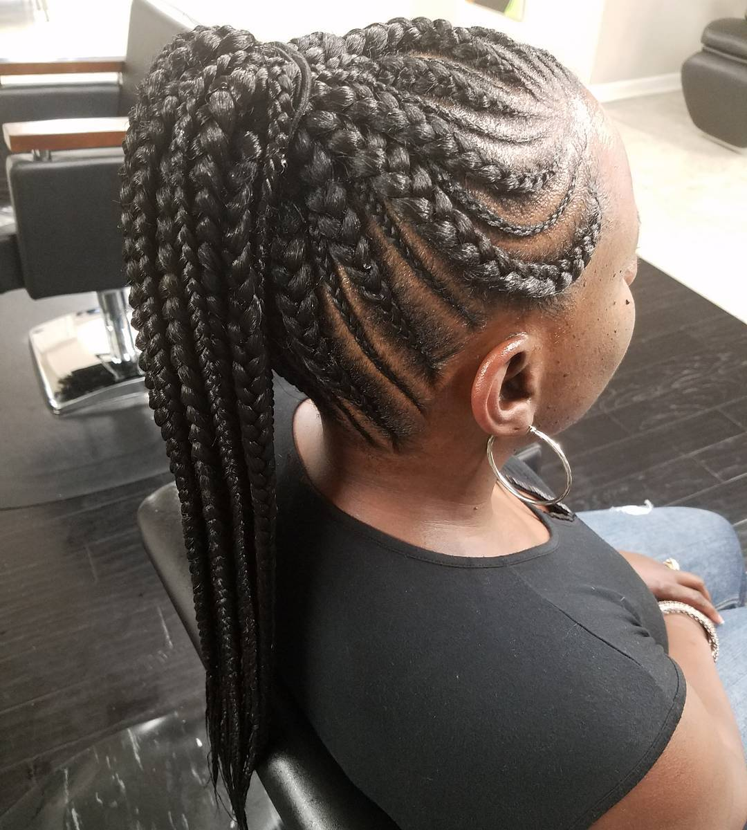 20 Gorgeous Ghana Braids For An Intricate Hairdo In 2020