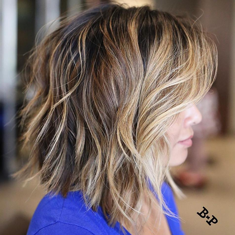 short length hair style 20 and flattering medium hairstyles for of all ages 7131 | 12 choppy angled bob