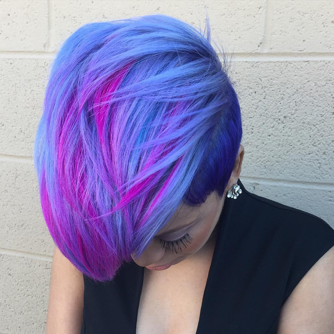 20 blue and purple hair ideas pmusecretfo Images