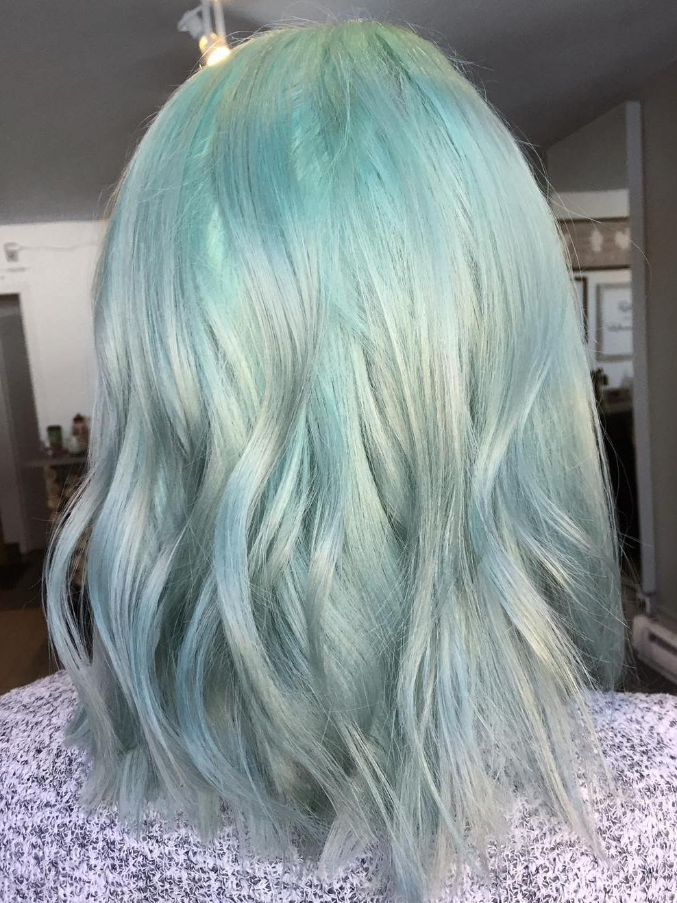 20 Mint Green Hairstyles That Are Totally Amazing