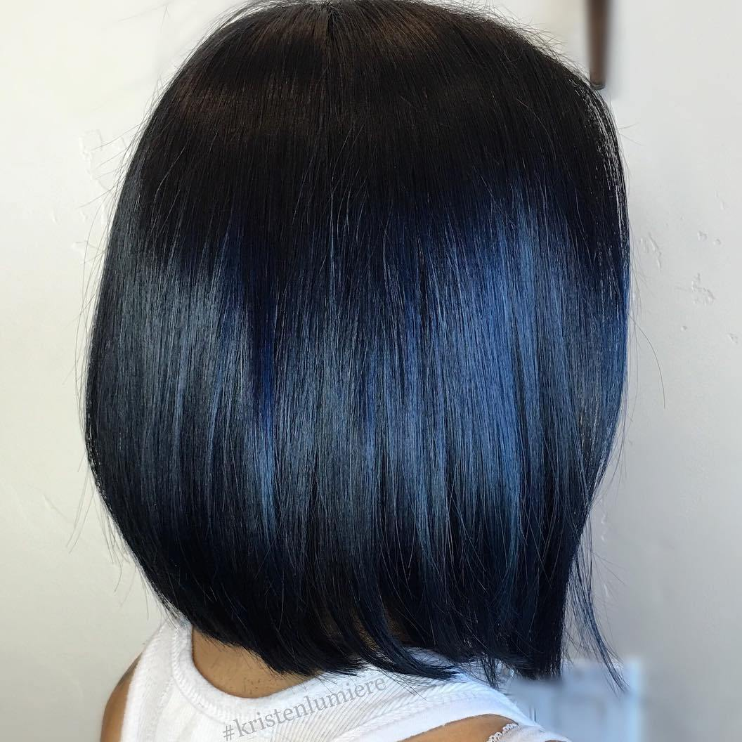 Subtle Highlights For Black Hair Hairs Picture Gallery