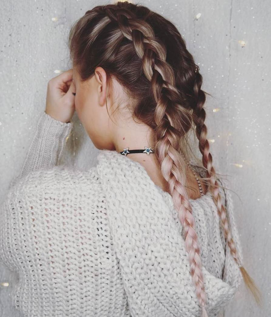 10 Lazy Winter Hairstyles
