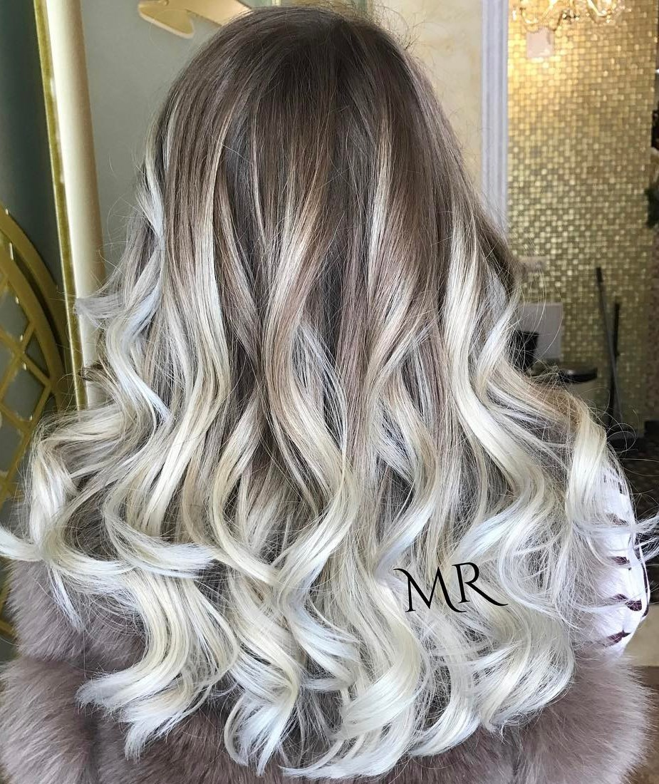 Icy Silver Hair Transformation Is the 2019's Coolest Trend