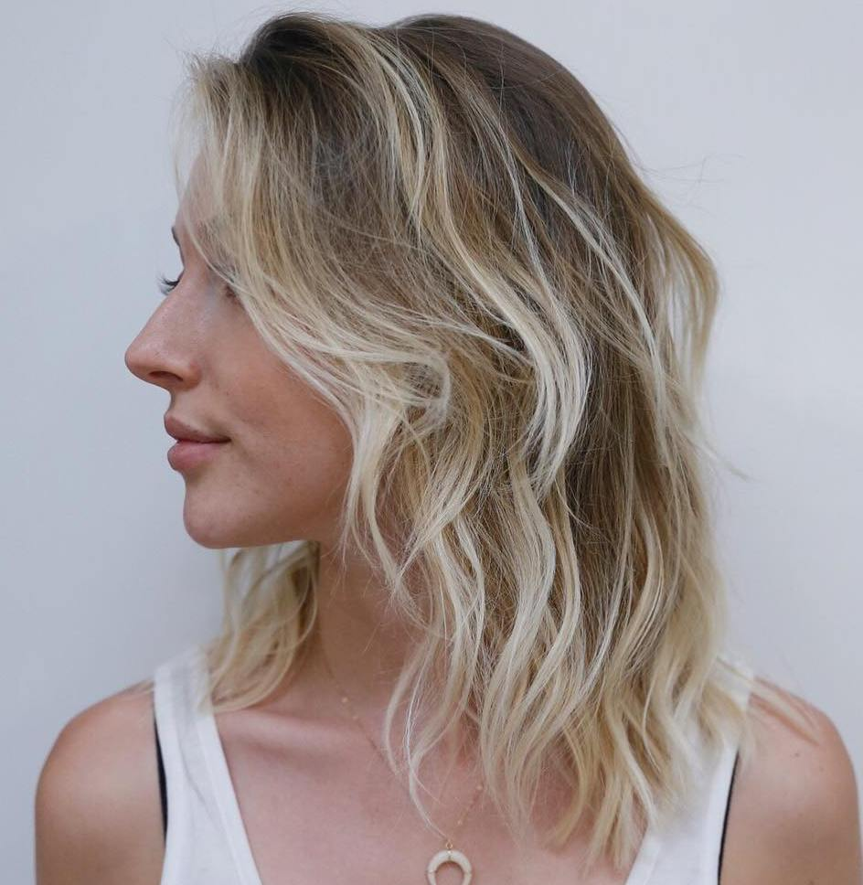 20 Styles With Medium Blonde Hair For Major Inspiration