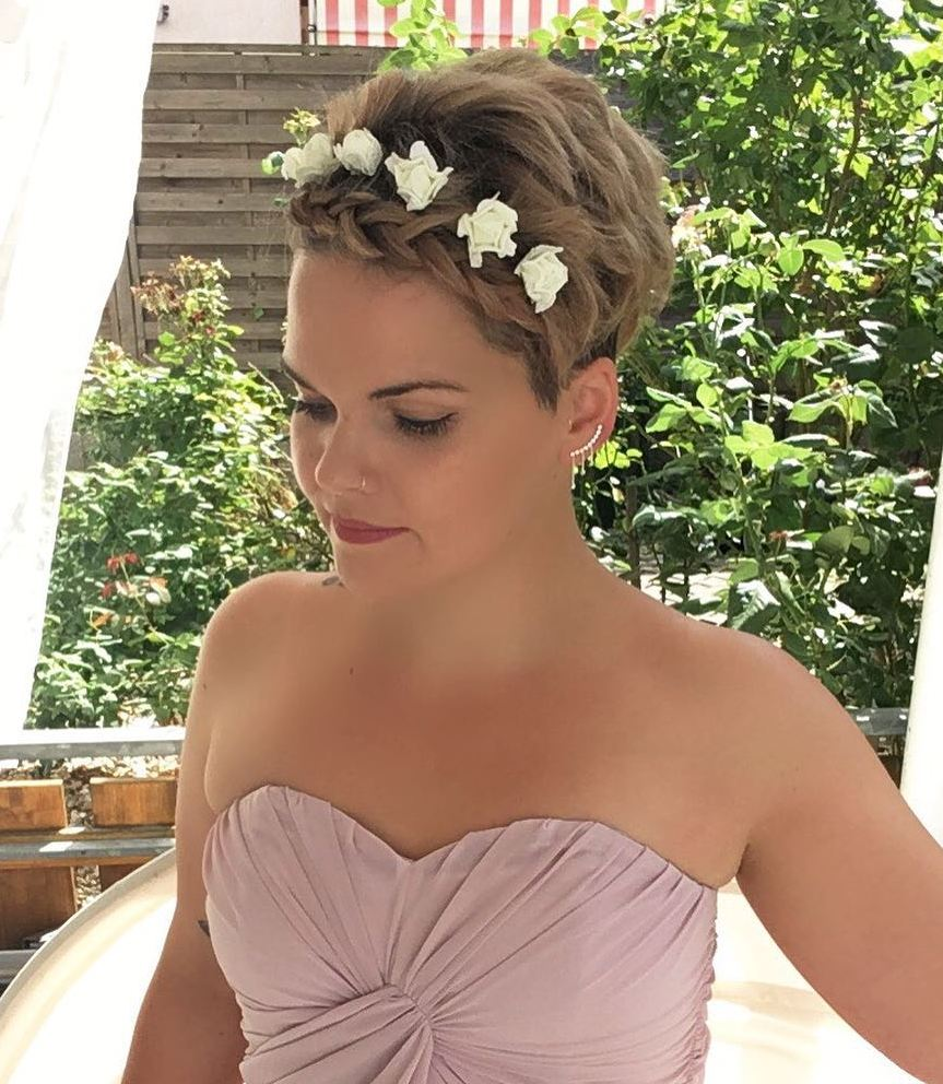 Wedding Pixie Hairstyle