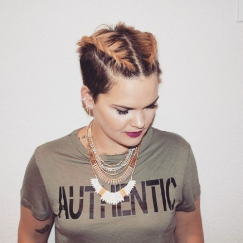 Pixie Cut With Rope Braids