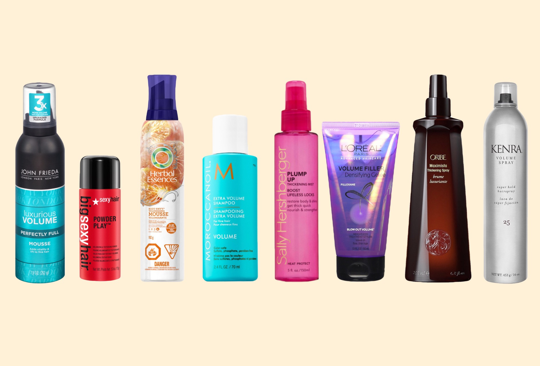 Best Heat Styling Products For Fine Hair Extraordinary 8 Best Volumizing Hair Products For Fine Hair 2018 Update