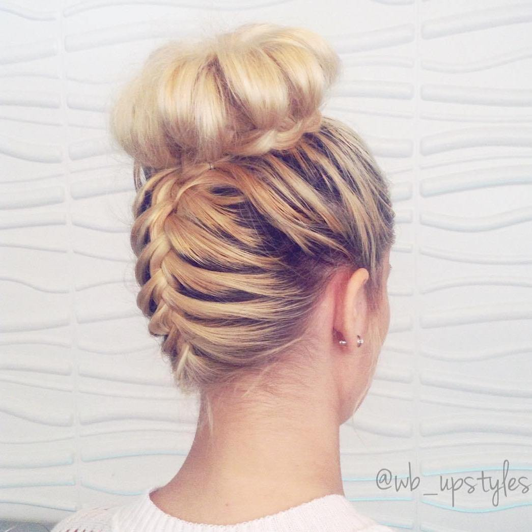 braided hair bun styles 20 braid ideas 7753