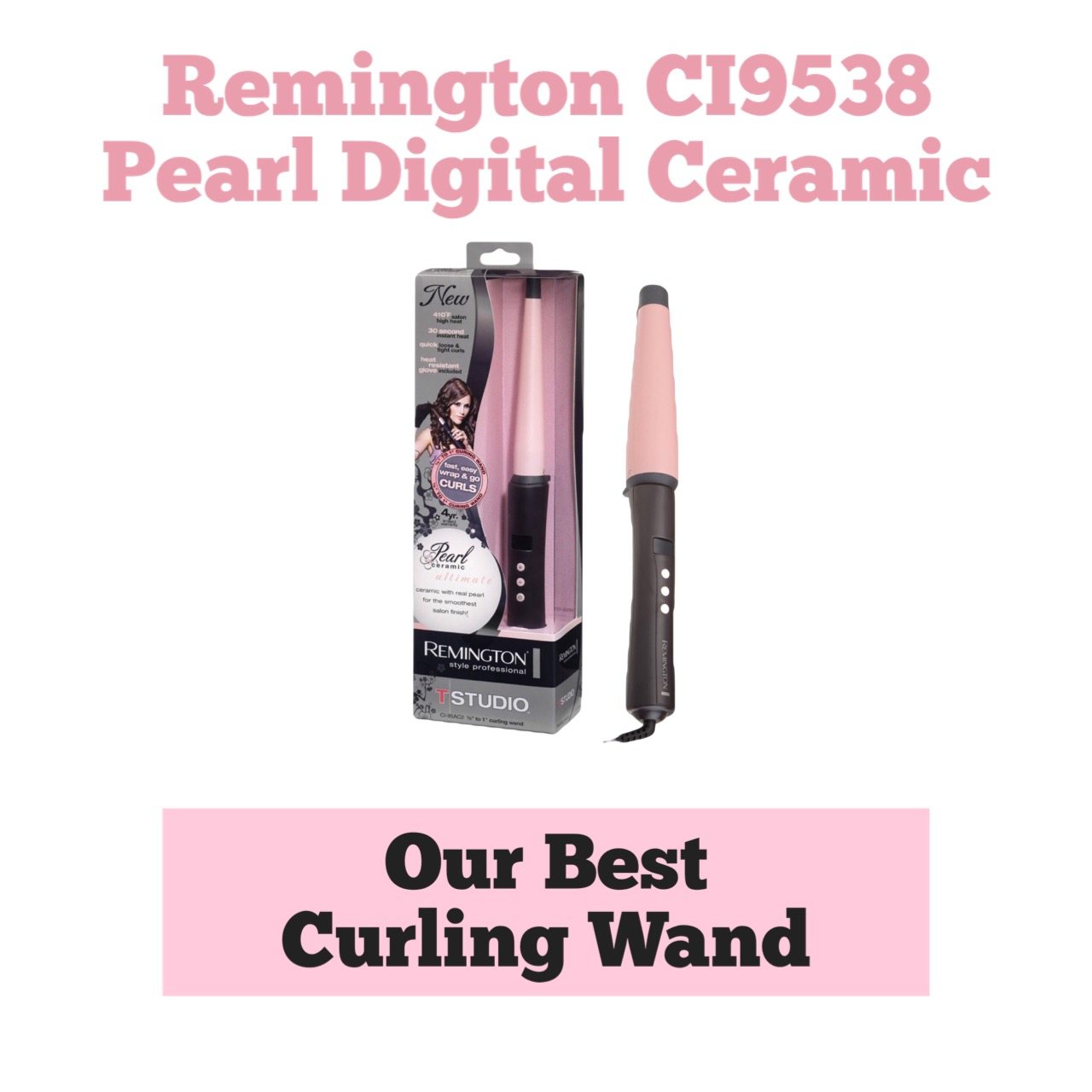 Remington Digital Curling Wand