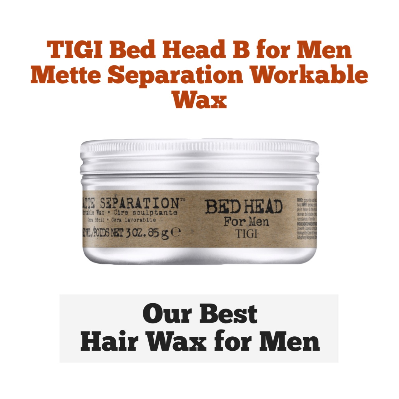 10 Best Hair Waxes for Men: Reviews and Buyer's Guide