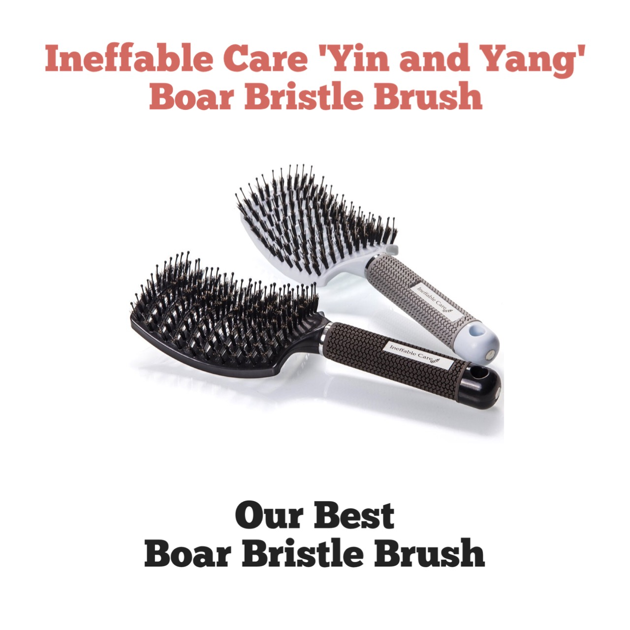 Ineffable Care Boar Bristle Hair Brush