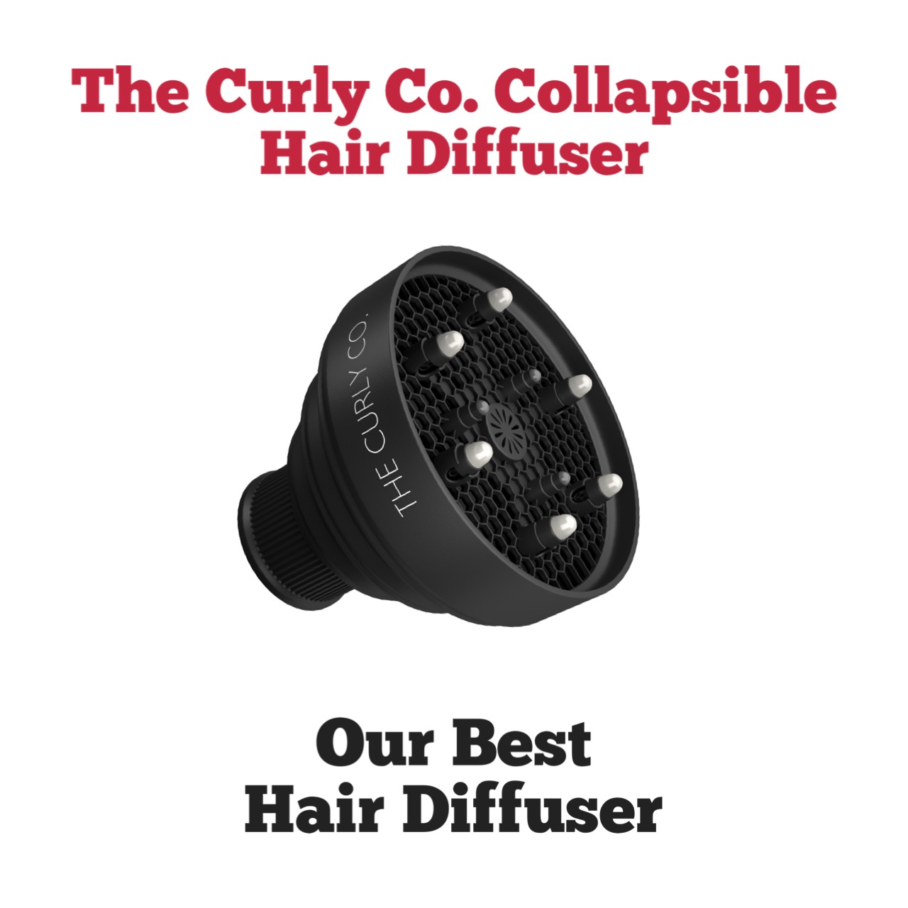 The Curly Co Collapsible Diffuser