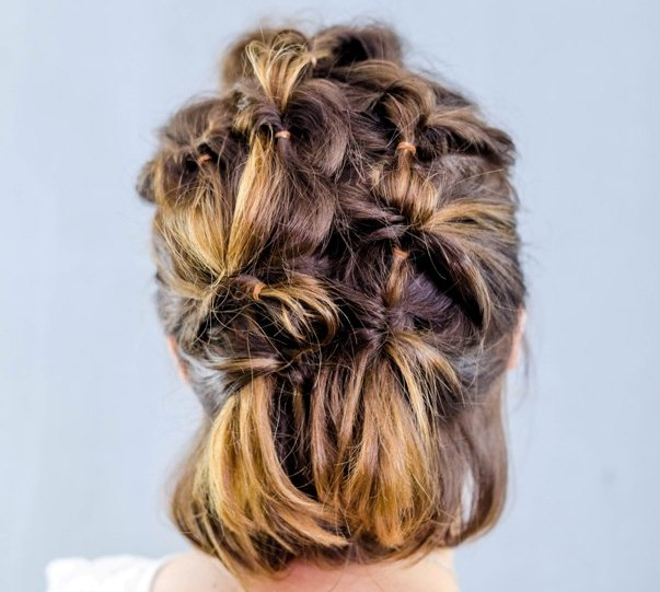 Twisted Hairstyle for Fine Hair - Easy Tutorial
