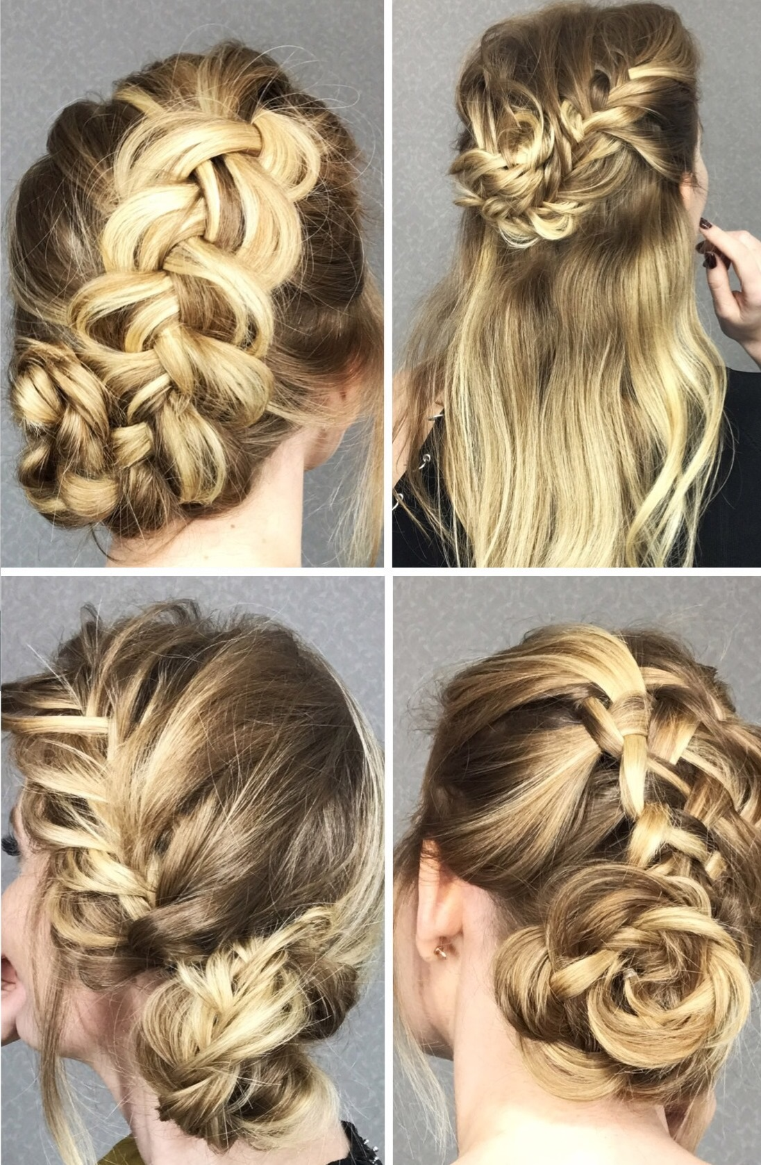 4 Cute Braided Hairstyles In Easy Step By Step Tutorials