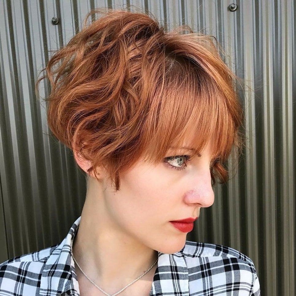 Best Short Wavy Hair With Bangs Ideas For 2020
